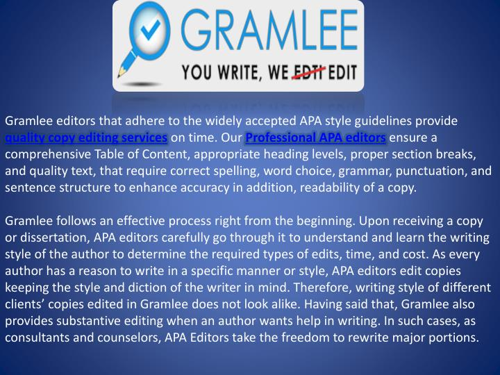 Write my dissertation editing apa