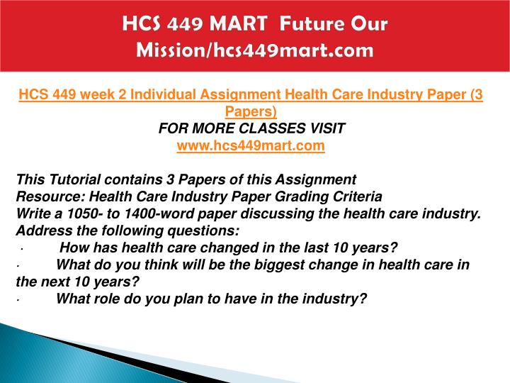 hcs 320 week 2 assignment Hcs 320 week 2 individual assignment hipaa tutorial and summary resource: hipaa tutorial complete the hipaa tutorial a link to this tutorial is found in the.