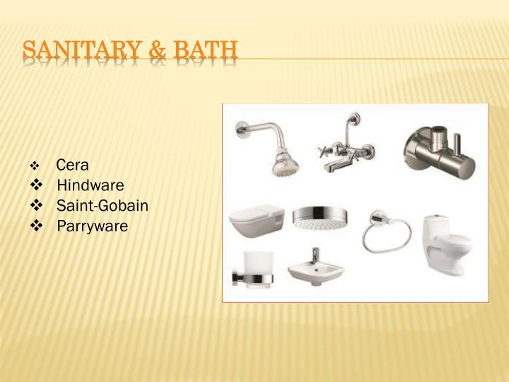 SANITARY & BATH