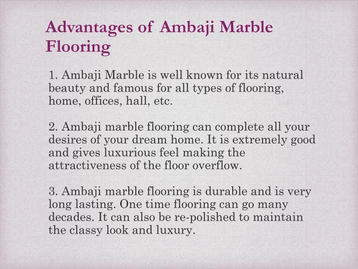 Marble Flooring Advantages : Ppt ambaji marble flooring powerpoint presentation id