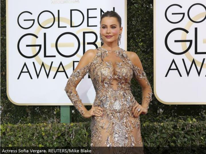 Actress Sofia Vergara. REUTERS/Mike Blake