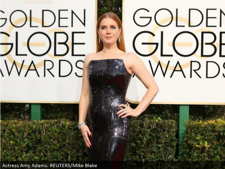 Actress Amy Adams. REUTERS/Mike Blake