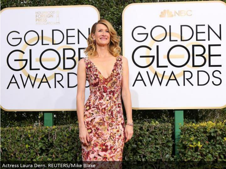 Actress Laura Dern. REUTERS/Mike Blake