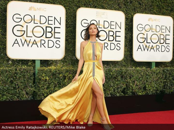 Actress Emily Ratajkowski. REUTERS/Mike Blake