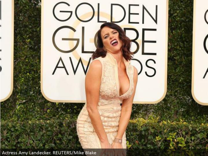 Actress Amy Landecker. REUTERS/Mike Blake