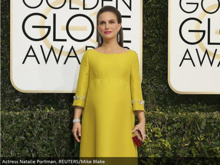 Actress Natalie Portman. REUTERS/Mike Blake