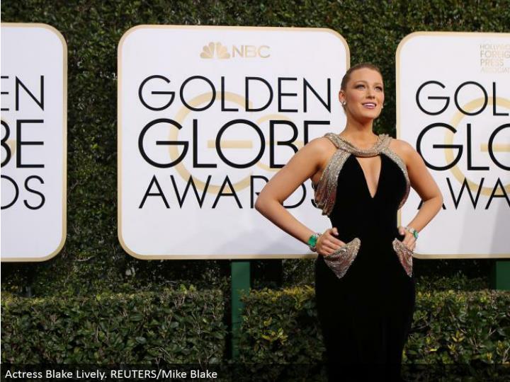 Actress Blake Lively. REUTERS/Mike Blake
