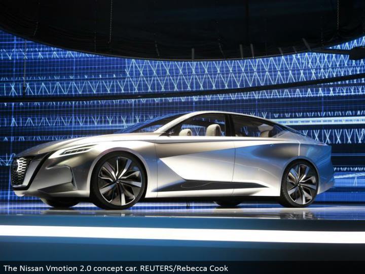 The Nissan Vmotion 2.0 idea auto. REUTERS/Rebecca Cook