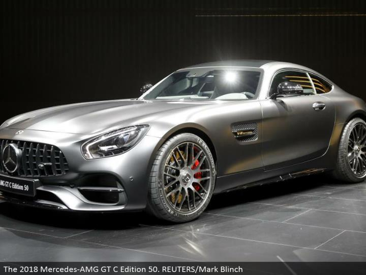 The 2018 Mercedes-AMG GT C Edition 50. REUTERS/Mark Blinch