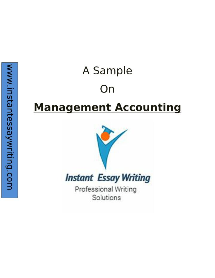 report on management