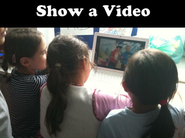 Show a Video