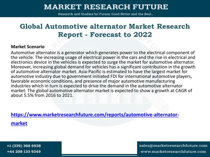 Automotive Electronics and Electrical Equipment Market Research Reports & Consulting