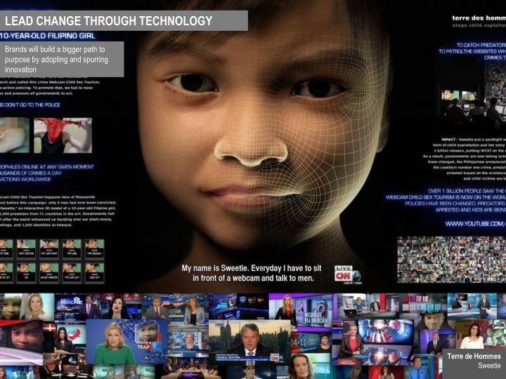LEAD CHANGE THROUGH TECHNOLOGY