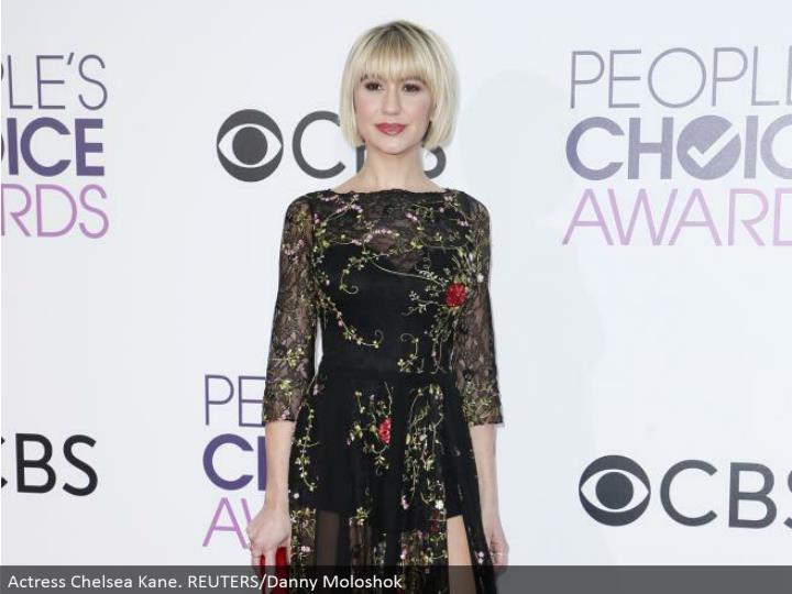 Actress Chelsea Kane. REUTERS/Danny Moloshok