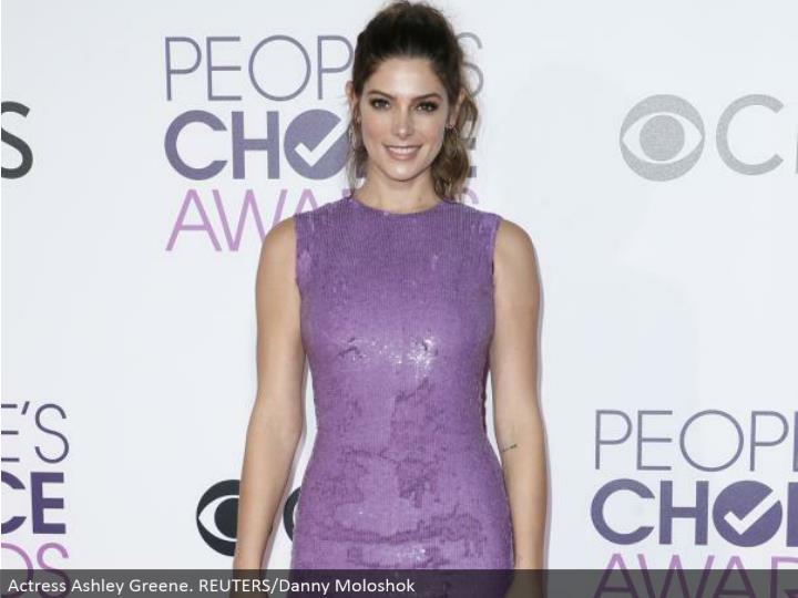 Actress Ashley Greene. REUTERS/Danny Moloshok
