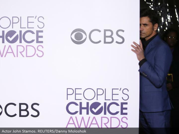 Actor John Stamos. REUTERS/Danny Moloshok