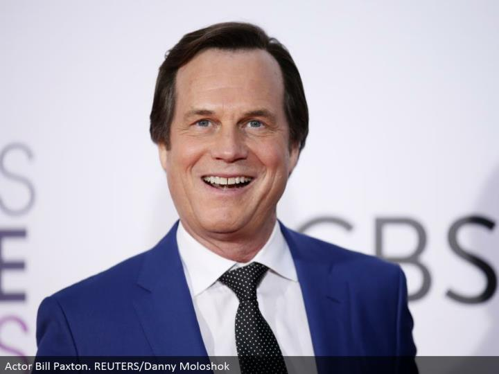 Actor Bill Paxton. REUTERS/Danny Moloshok