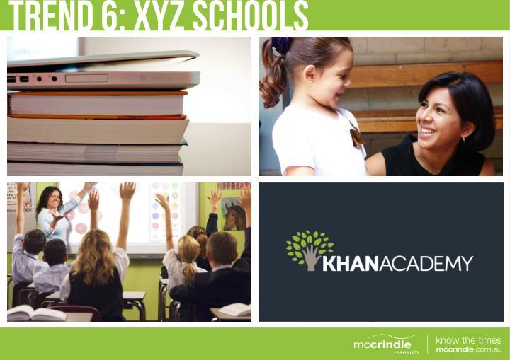 TREND 6: XYZ SCHOOLS