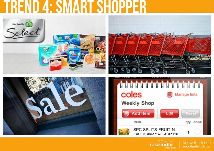 TREND 4: Smart Shopper