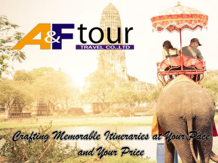 Crafting Memorable Itineraries at Your Pace and Your