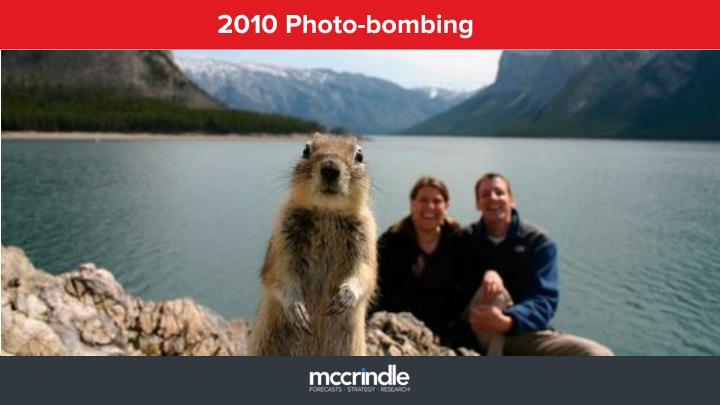 2010 Photo-bombing