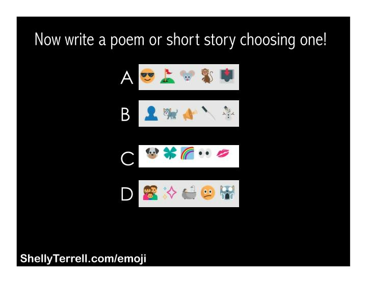 how to write a short story poem