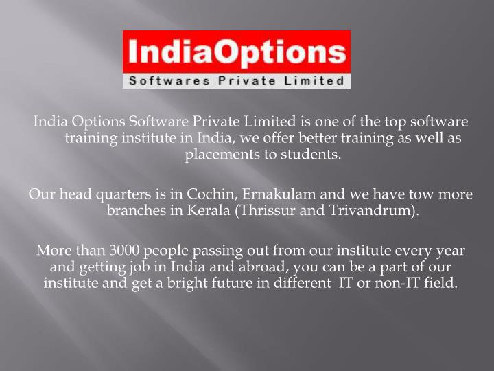 Stock options quotes india