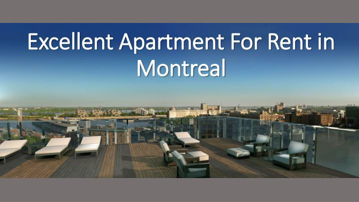 PPT - Excellent Apartment For Rent in Montreal PowerPoint ...