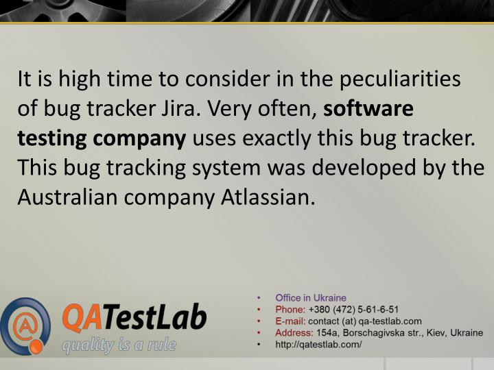 It is high time to consider in the peculiarities of bug tracker Jira. Very often,