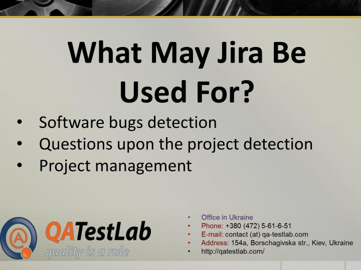 What May Jira Be