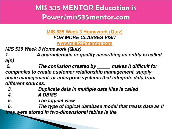 DEvry MIS535 Week 4 Case Studies Latest 2015 November