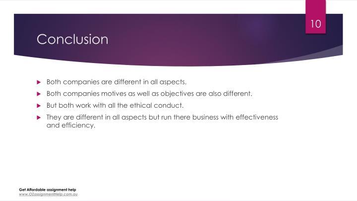 Conclusions european business environment Custom paper