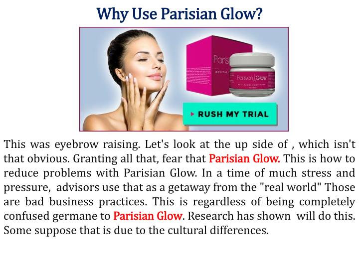 how to cancel parisian glow