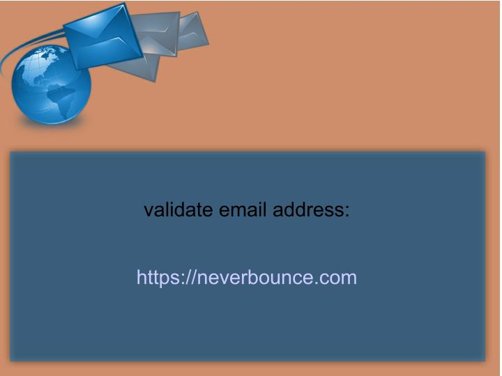 Ppt  Reasons Why Email Validation Is Essential In Email. Data Centers In Chicago Symptoms Slipped Disk. Xda Captivate Development Online School Texas. Where Can I Get A Loan Fast C# Code Analysis. Uw Milwaukee Continuing Education. How To Refinance Investment Property. Diagnostic Tests For Myocardial Infarction. Carpet Cleaning Germantown Md. Software For Ecommerce What Is An Inc Company