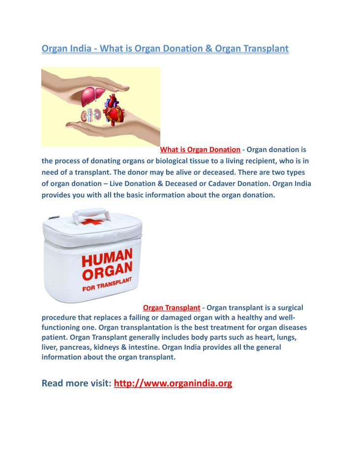 what is organ donation Faqs and facts about organ donation and tissue donation and becoming and organ donor.
