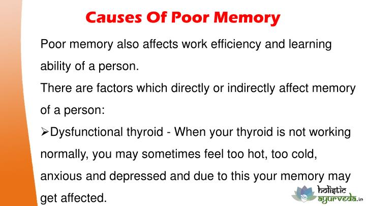 Memory loss natural medicine