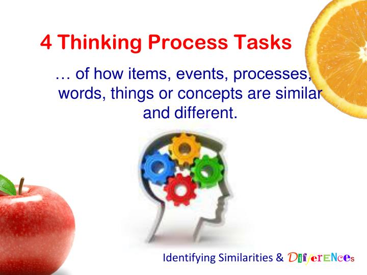 4 Thinking Process Tasks