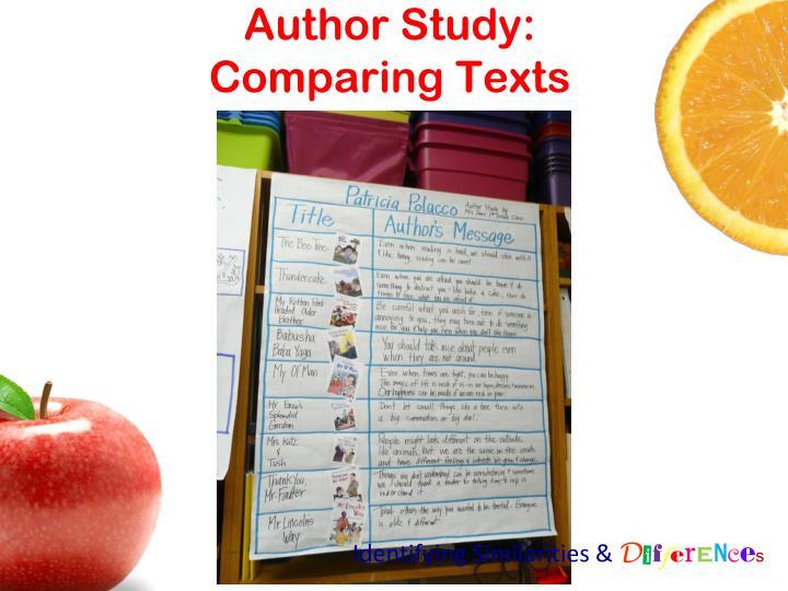 Author Study: