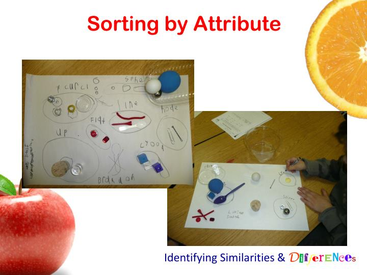 Sorting by Attribute