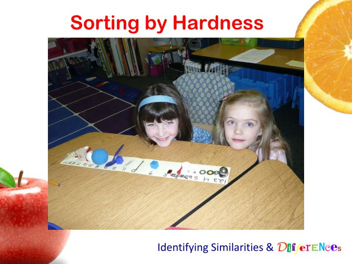 Sorting by Hardness