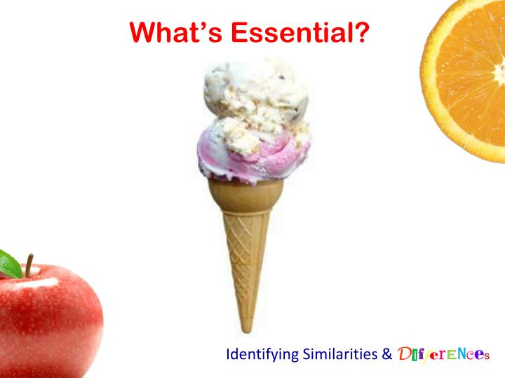 What's Essential?