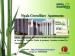 nirala greenshire apartments