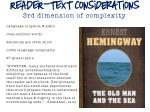 reader text considerations 3rd dimension