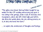 structure complexity