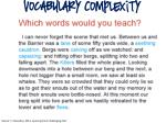 vocabulary complexity1