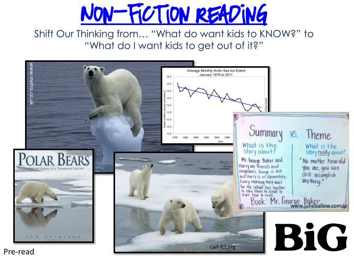 Non-fiction Reading