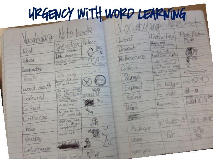 Urgency with Word Learning