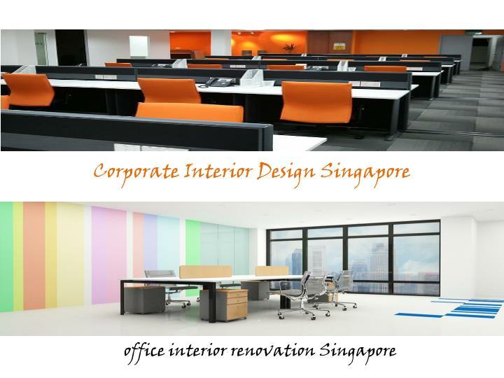 Corporate Interior Design Singapore