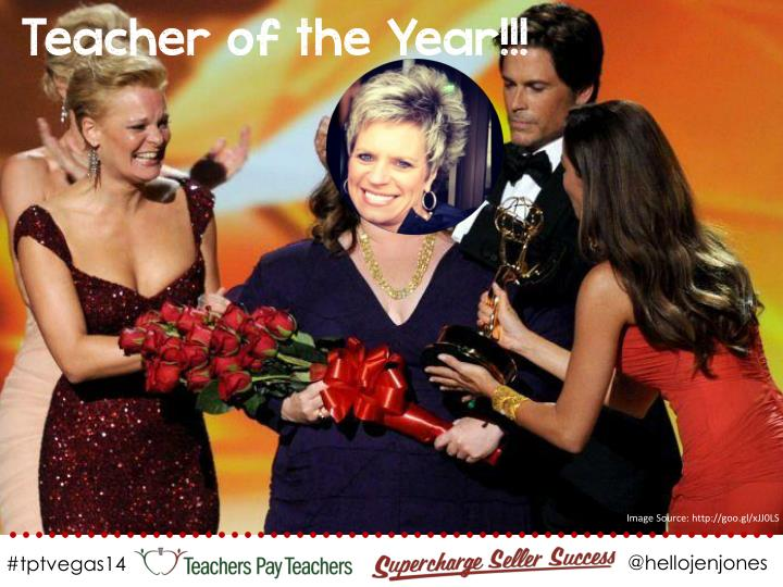 Teacher of the Year!!!