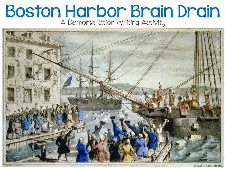 Boston Harbor Brain Drain
